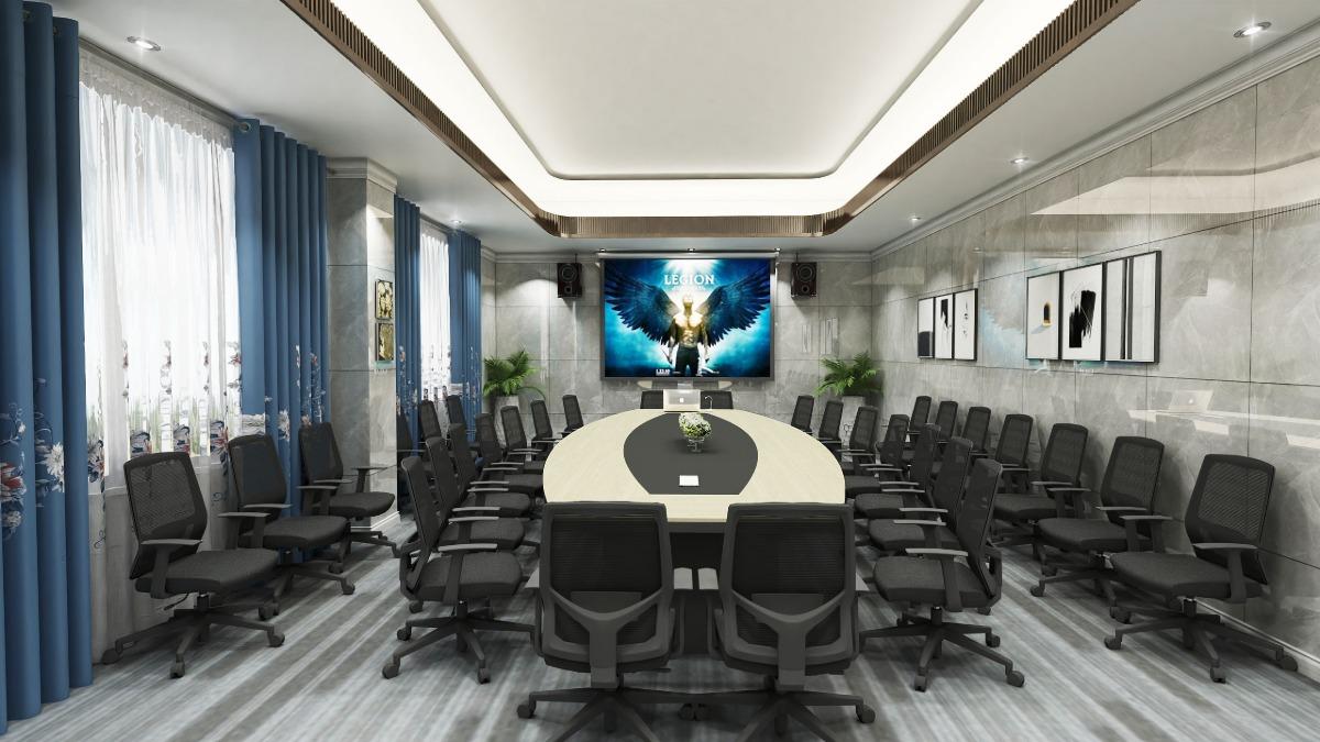 深圳市绿家实业售楼大楼办公家具项目