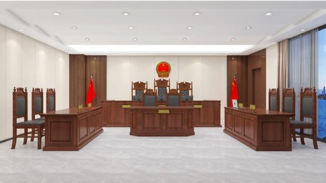 重庆市某法院办公家具采购项目案例