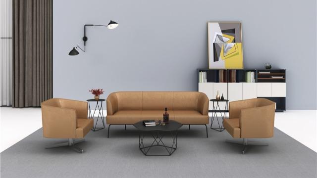 梵创曲美系列办公沙发