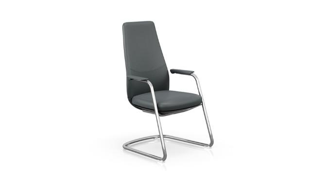 熔智系列真皮会议椅