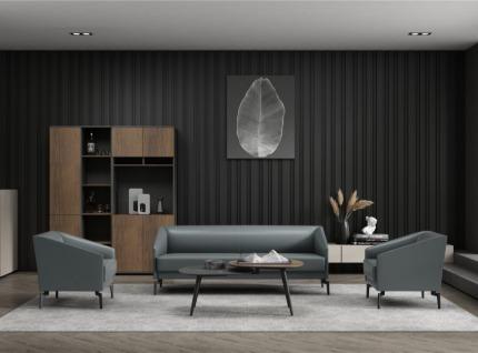 梵创英朗II系列真皮沙发
