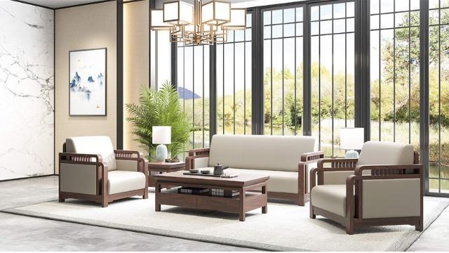 梵创华风系列实木沙发